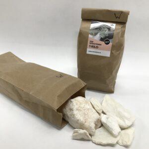 1 kilo zak speksteen wit