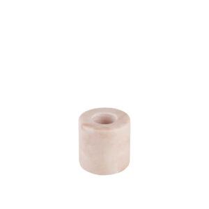Kandelaar Stoned pink laag